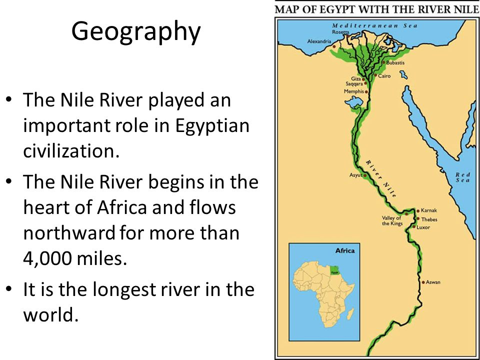 the importance of the nile river in creation of egypt The river nile is one of the longest rivers in the world, and although it is most   what is the miracle of the nile, and why is it important in egyptian history.