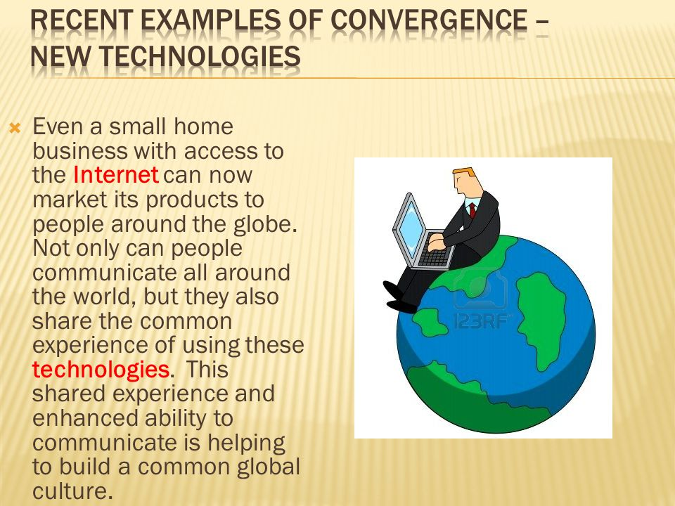 Three Types of Convergence – Is the Future Friendly?