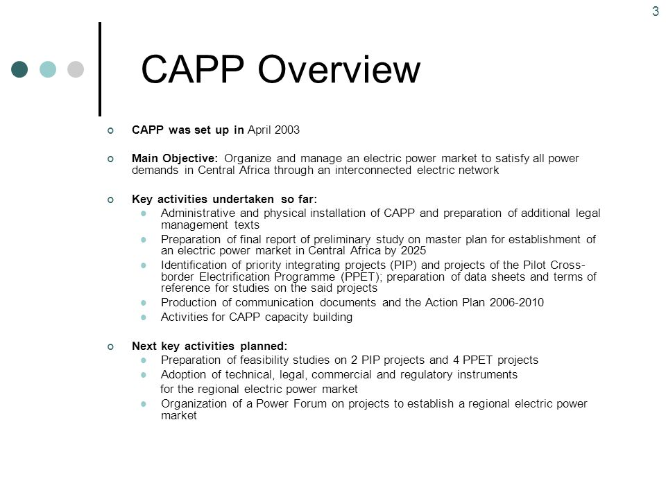 Central africa power pool capp ppt video online download 3 capp sciox Images