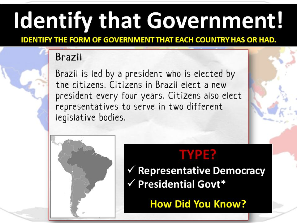 Different Types of Government - ppt video online download