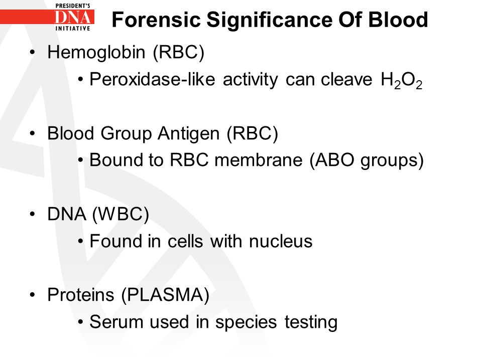 Forensic Significance Of Blood
