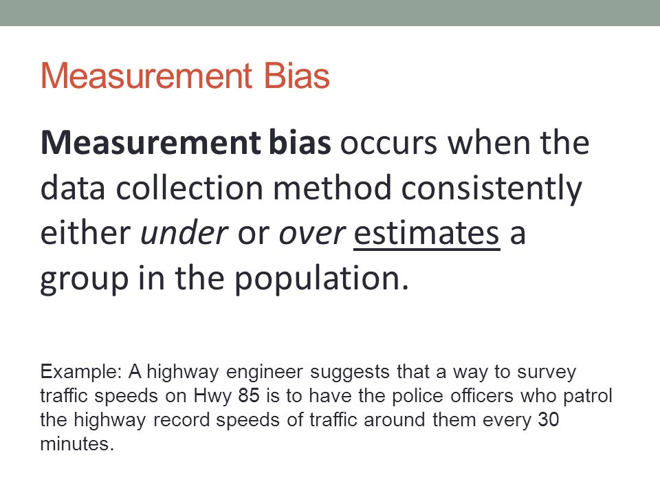 how to avoid bias data collection