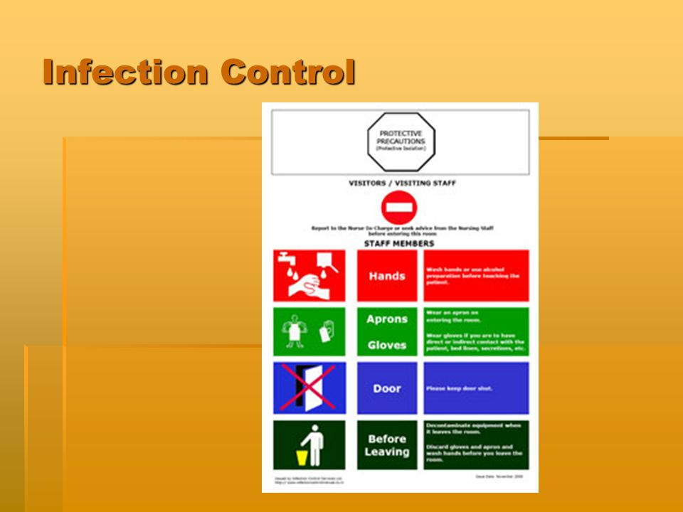 a discussion on following the infection control precautions by healthcare personnel For infection control, complete physical and laboratory examinations should not be routinely required for all personnel but should be done when indicated for example, the need for an examination or laboratory test may be determined from results of the health inventory.