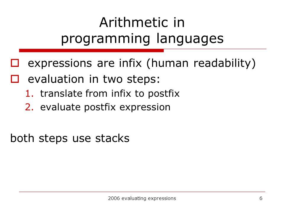 Infix to postfix examples using stack