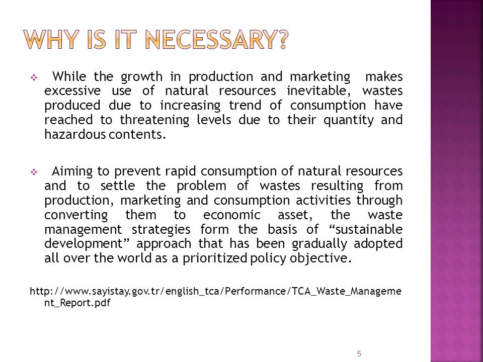 Why Is The Sustainable Use Of Natural Resources Necessary