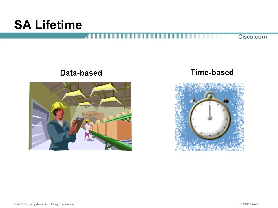 SA Lifetime Data-based Time-based