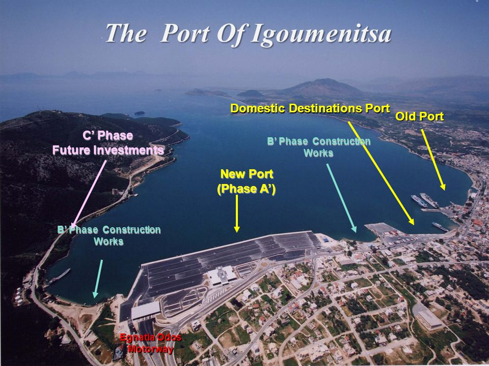 The Port Of Igoumenitsa