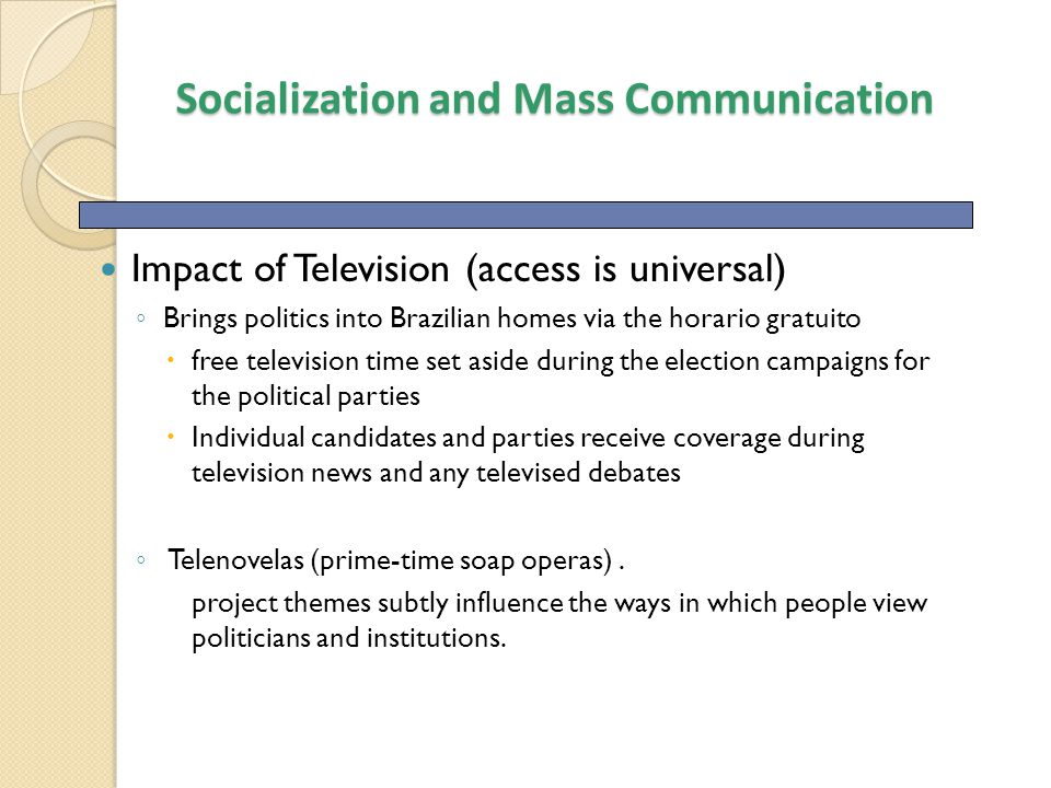 the impact of mass communication to Impacts of information technology on society in the  and communication technology along the entire value  the impact of information technology on the rms.