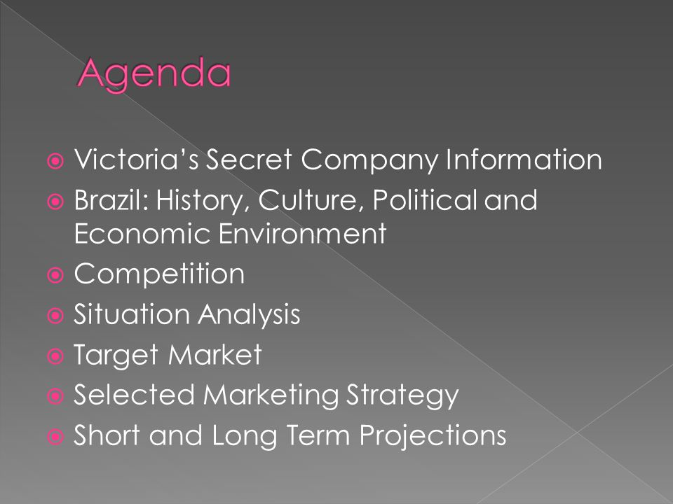 victoria secret mission statement Mission statement to build a family of the world's best fashion retail brands offering captivating customer experiences that drive long-term loyalty.