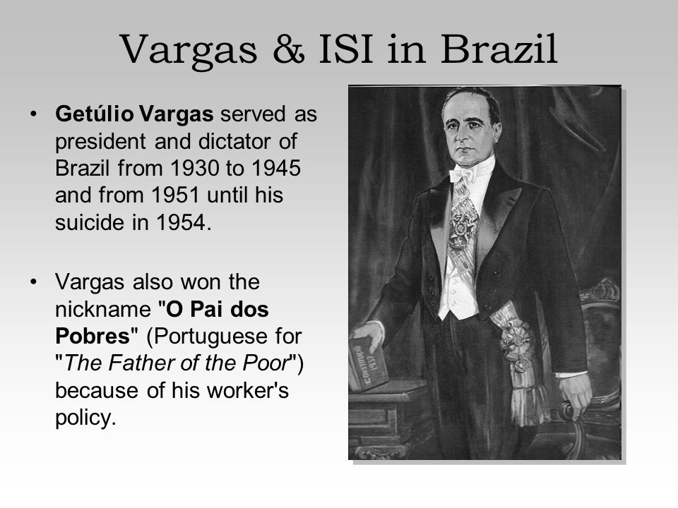 a biography of getulio vargas the president of brazil first as dictator from 1930 to 1945