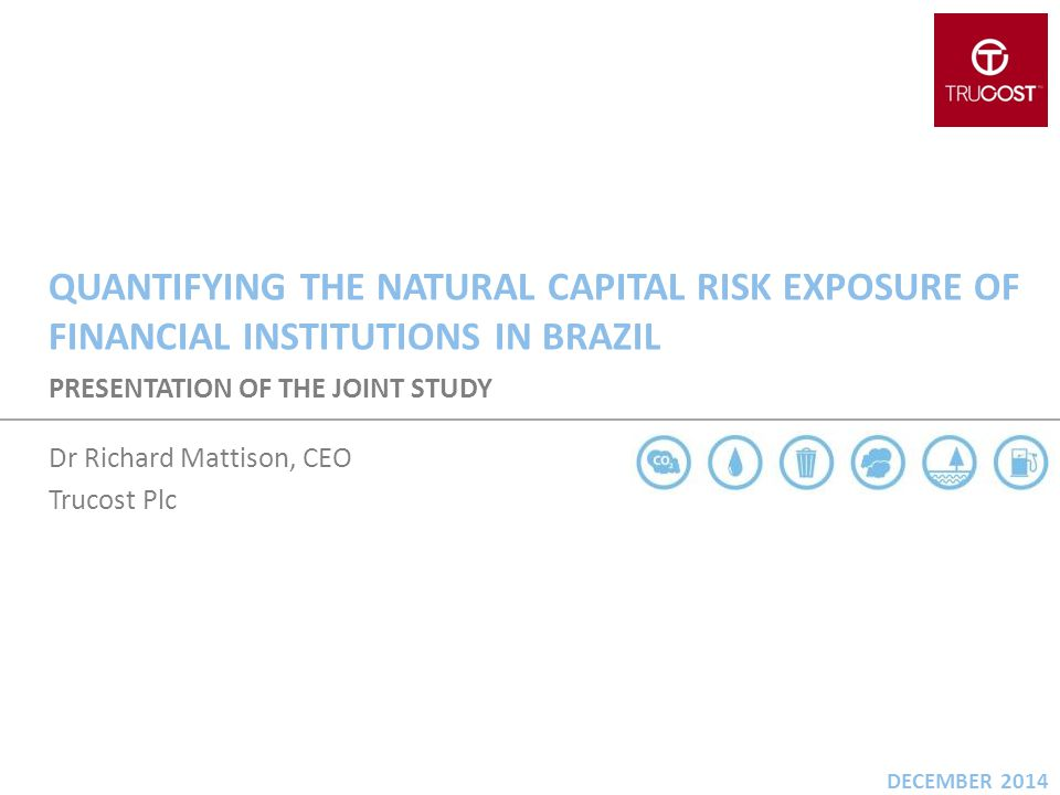 Quantifying the natural capital risk exposure of financial institutions in brazil