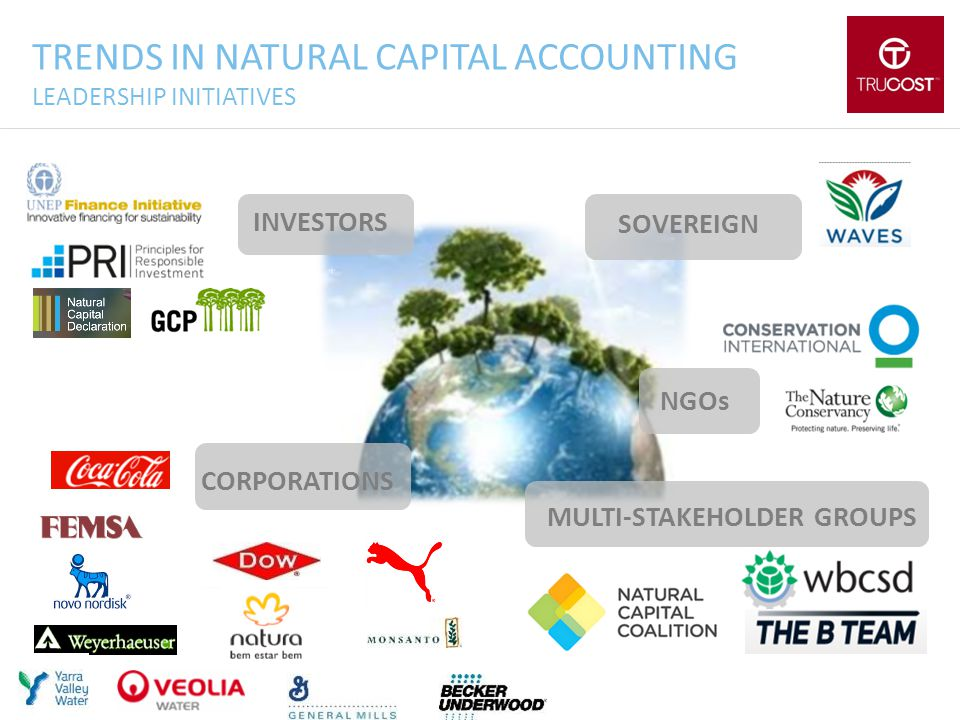 TRENDS IN NATURAL CAPITAL ACCOUNTING