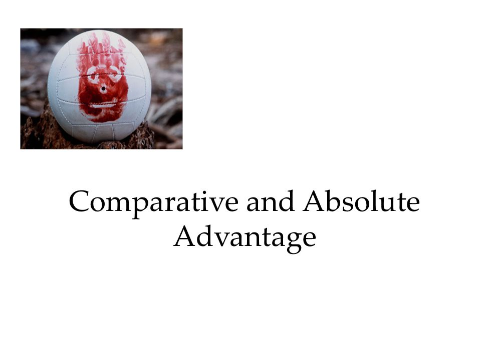 absolute advantage and comparative advantage essay In determining potential gains from trading with foreign entities, businesses must consider the absolute and comparative advantages of the exchange.