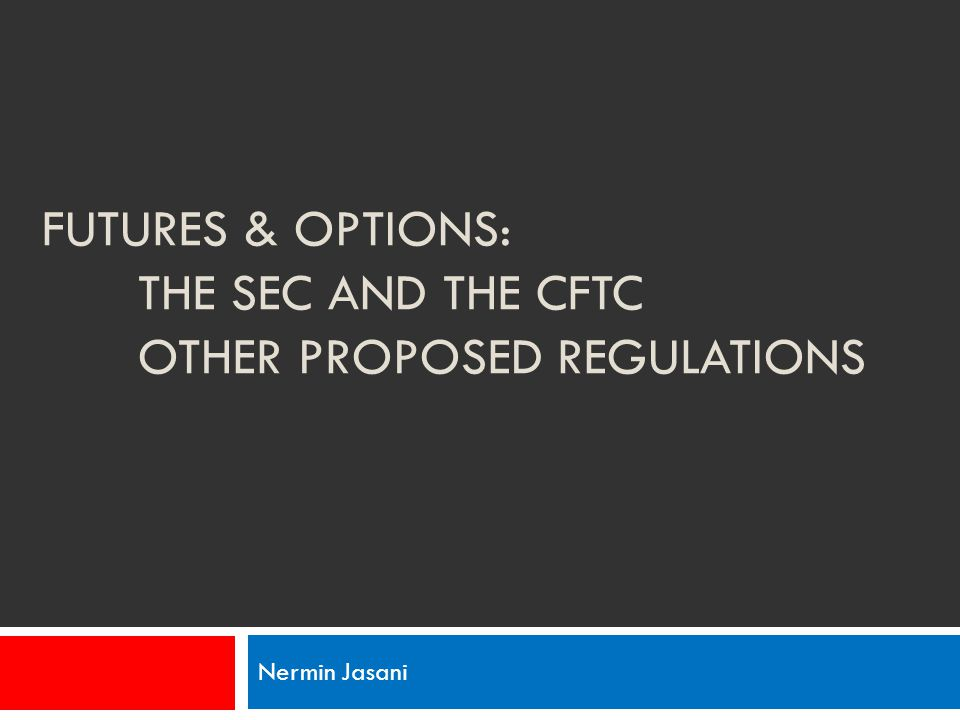 Cftc trade options rule