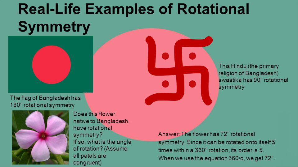 Rotation math real life