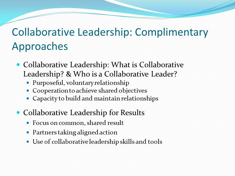 how to build collaborative relationships