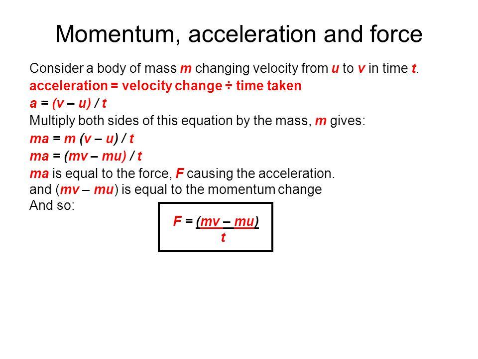 EDEXCEL IGCSE / CERTIFICATE IN PHYSICS 1-4 Momentum - ppt ...