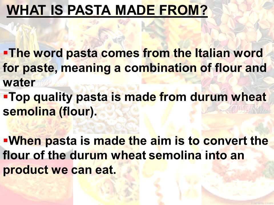 pasta ppt