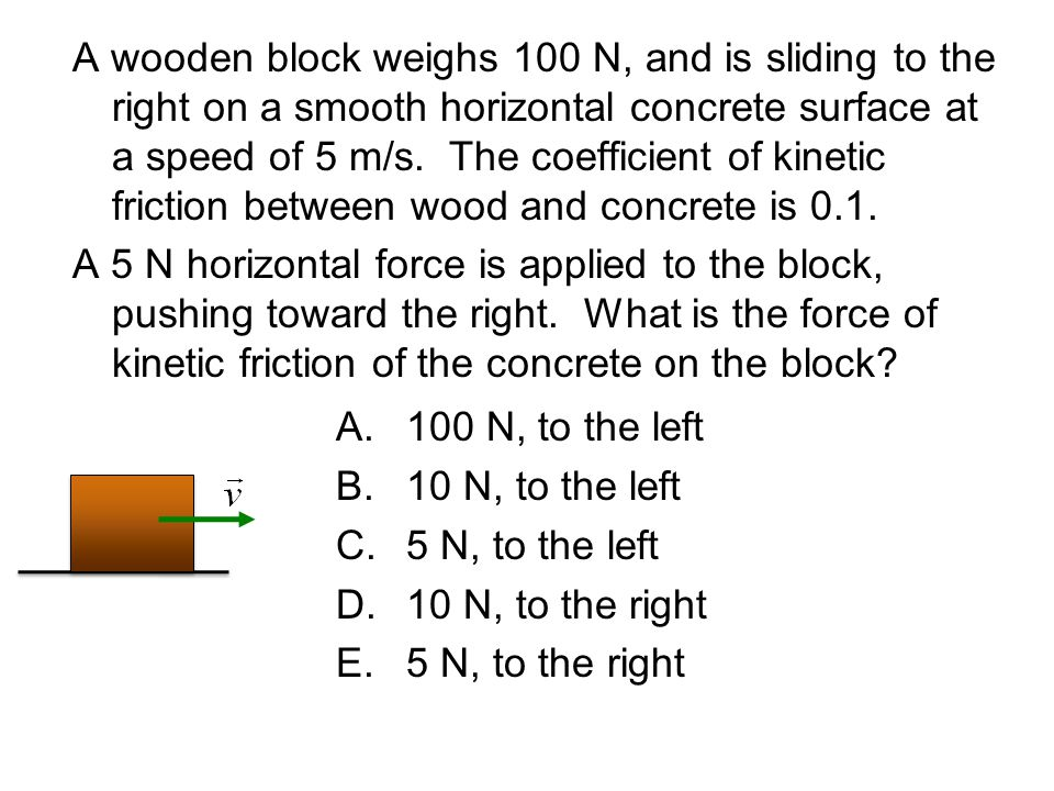 how to find force of kinetic friction without coefficient