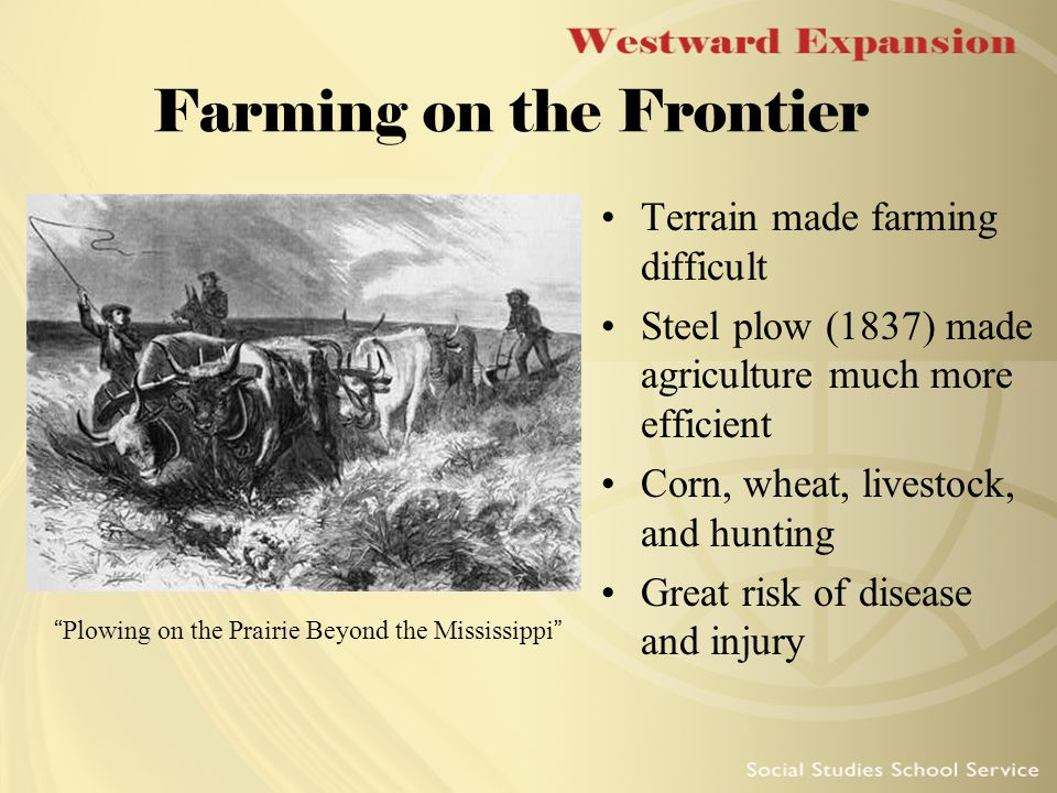 westward expansion the frontier thesis Expansion, both historically and in this text, animates the frontier  finally, i  consider a science fiction/western television series, firefly, as a case study   the thesis requires an ever-expanding frontier to continually renew our.