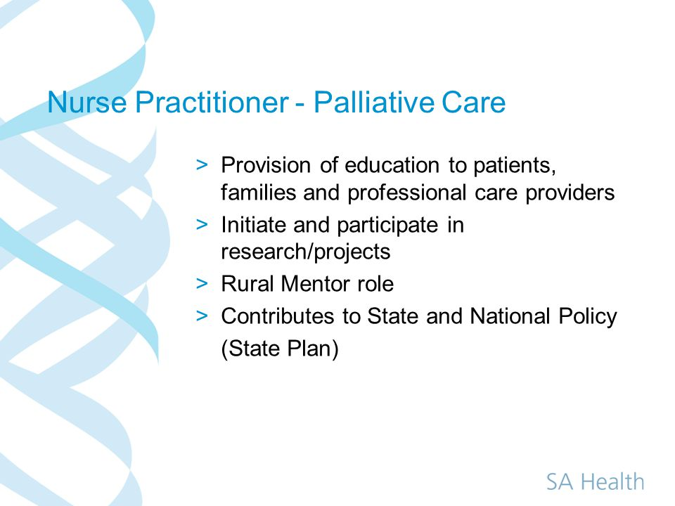 how to become a palliative care nurse practitioner