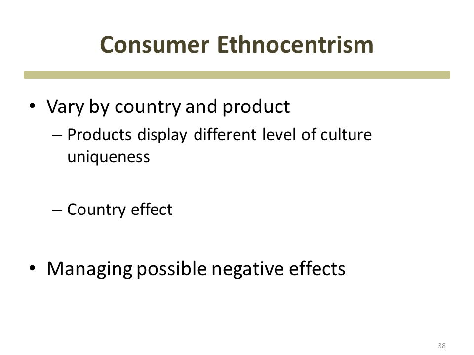 Positive and Negative Effects of Ethnocentrism in Society