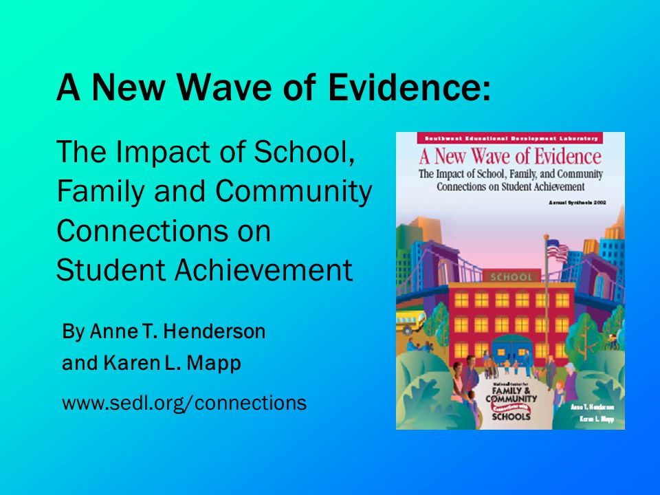 A New Wave of Evidence: The Impact of School, Family and Community Connections on Student Achievement.