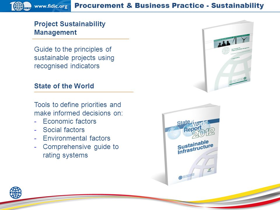 Procurment Data Acquisition Principles : International federation of consulting engineers ppt