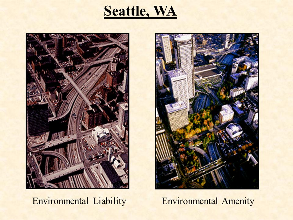 Seattle, WA Environmental Liability Environmental Amenity