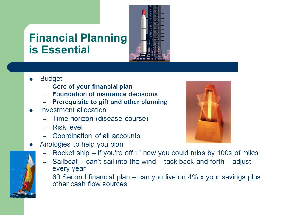 Financial Planning is Essential