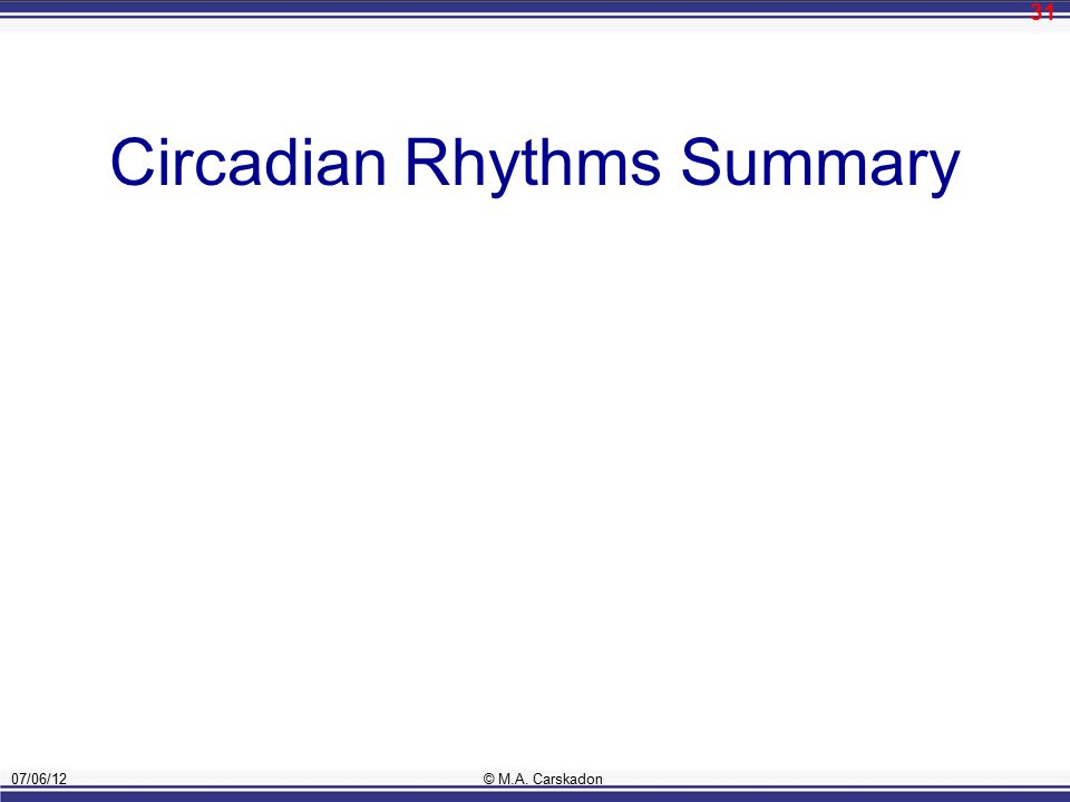 a short overview of the circadian rhythm Buy circadian rhythms: a very short introduction (very short introductions) by  russell foster, leon kreitzman (isbn: 9780198717683) from amazon's book.