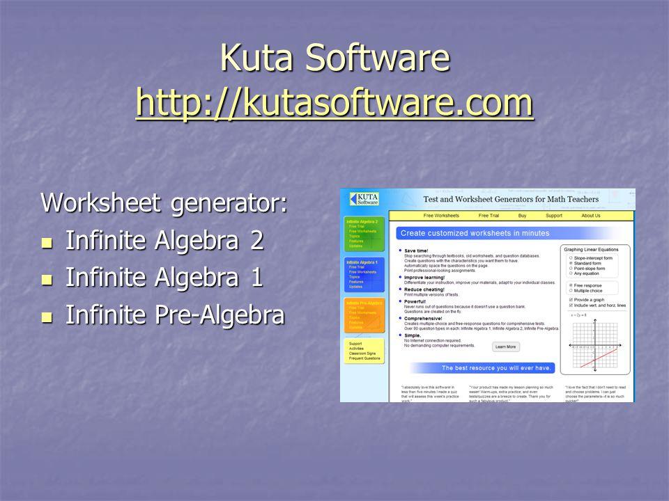 Kuta Software Create Custom PreAlgebra Algebra 1 - oukas.info