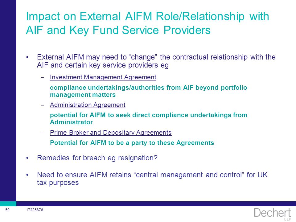 Aifmd Gauging The Impact Thursday  February Ppt Download