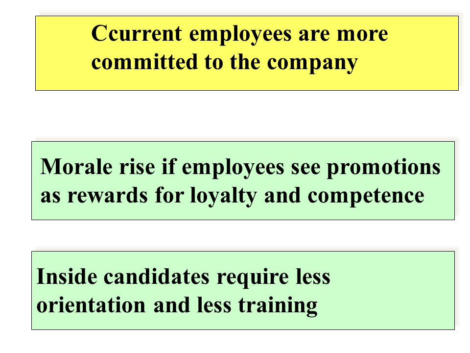 Ccurrent employees are more committed to the company