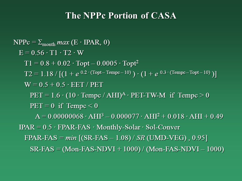 The NPPc Portion of CASA
