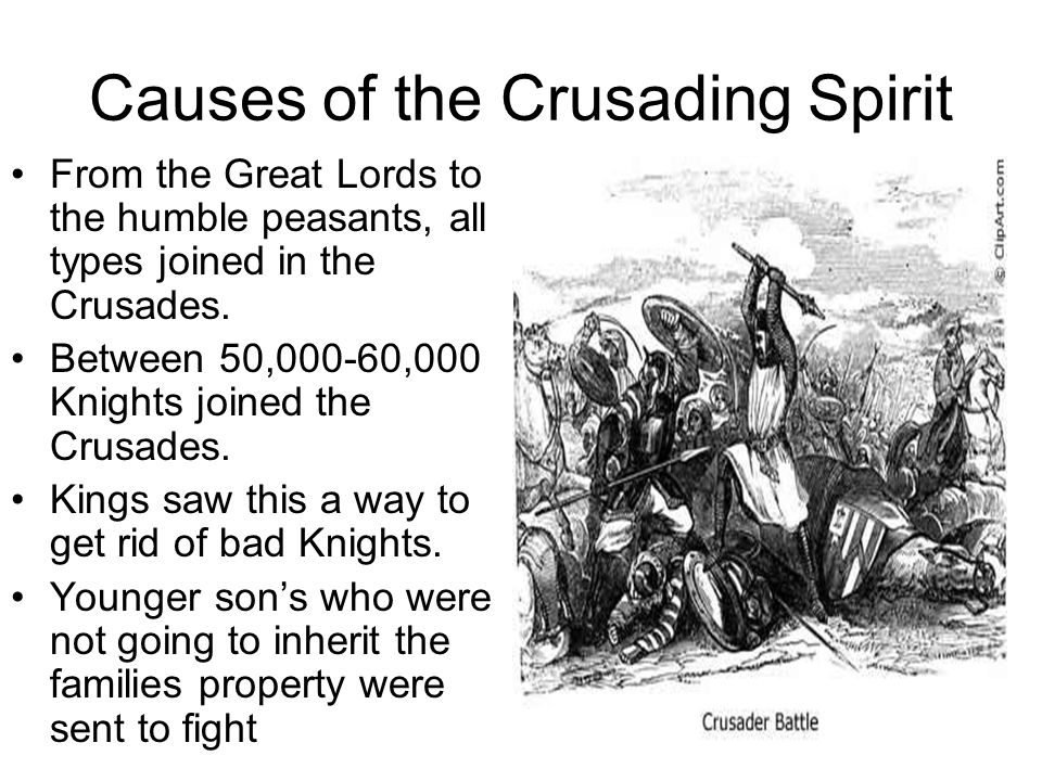 Causes of the Crusading Spirit