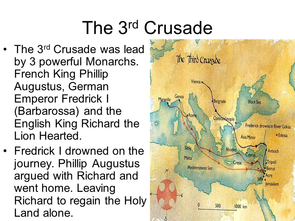 The 3rd Crusade