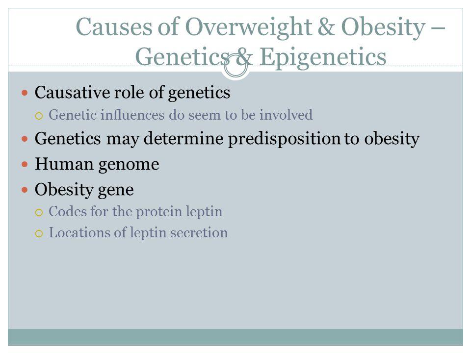 genetic predisposition to obesity essay Health determinants of type 2 diabetes health and social care essay  health determinants of type 2 diabetes  their genetic predisposition can affect.