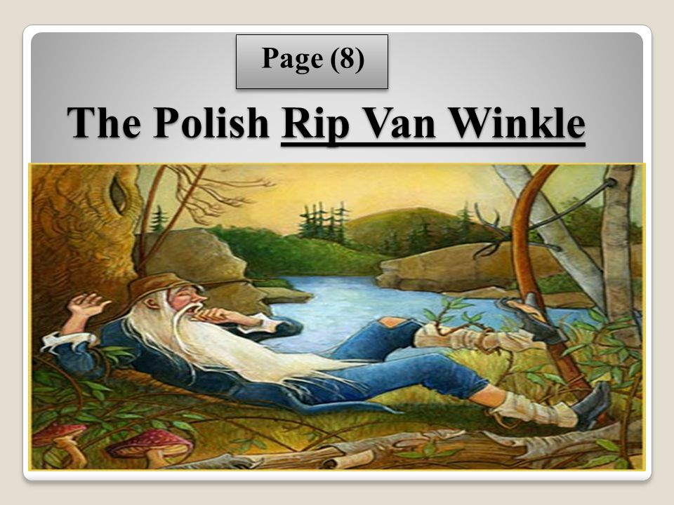 essay on rip van winkle Free essay: rip van winkle: an allegory of the american revolution cao yu rip van winkle is a short story by american author washington irving published in.