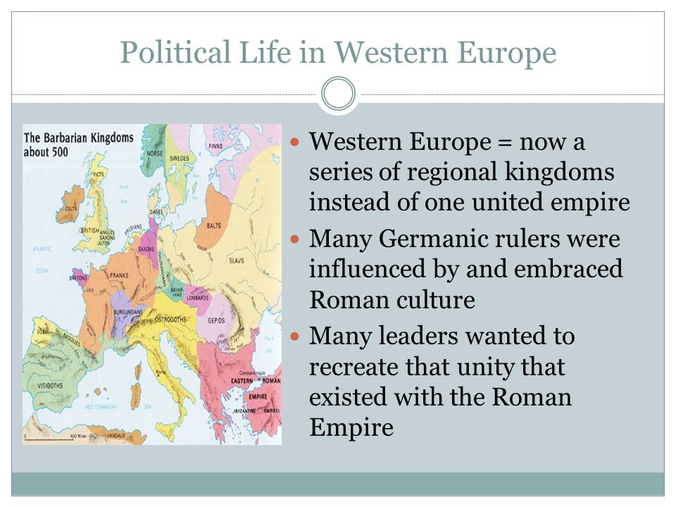 Political Life in Western Europe