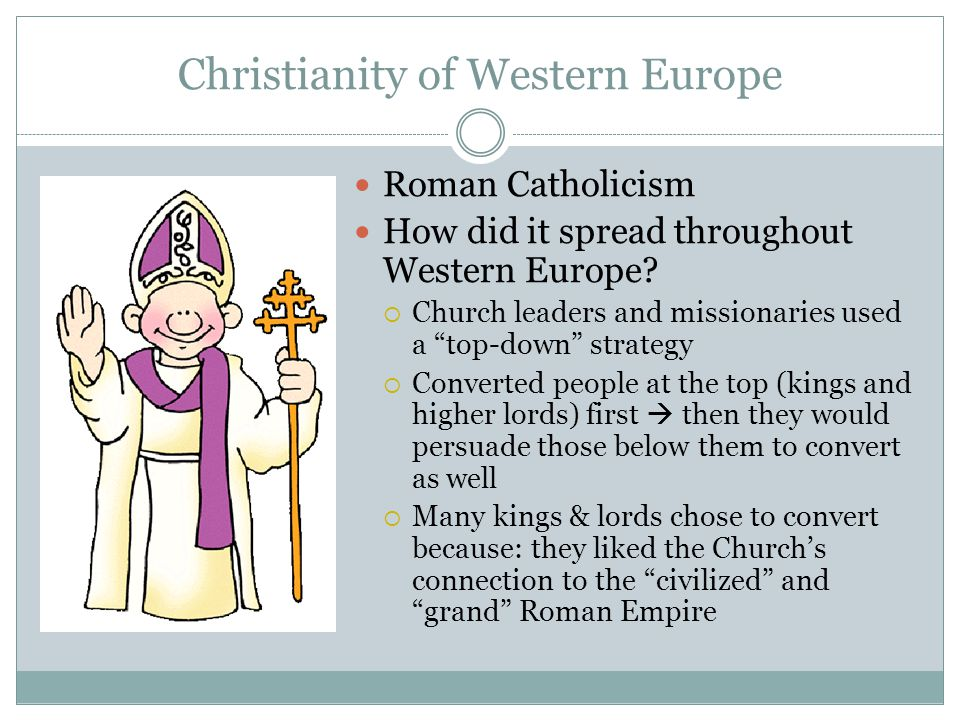 Christianity of Western Europe