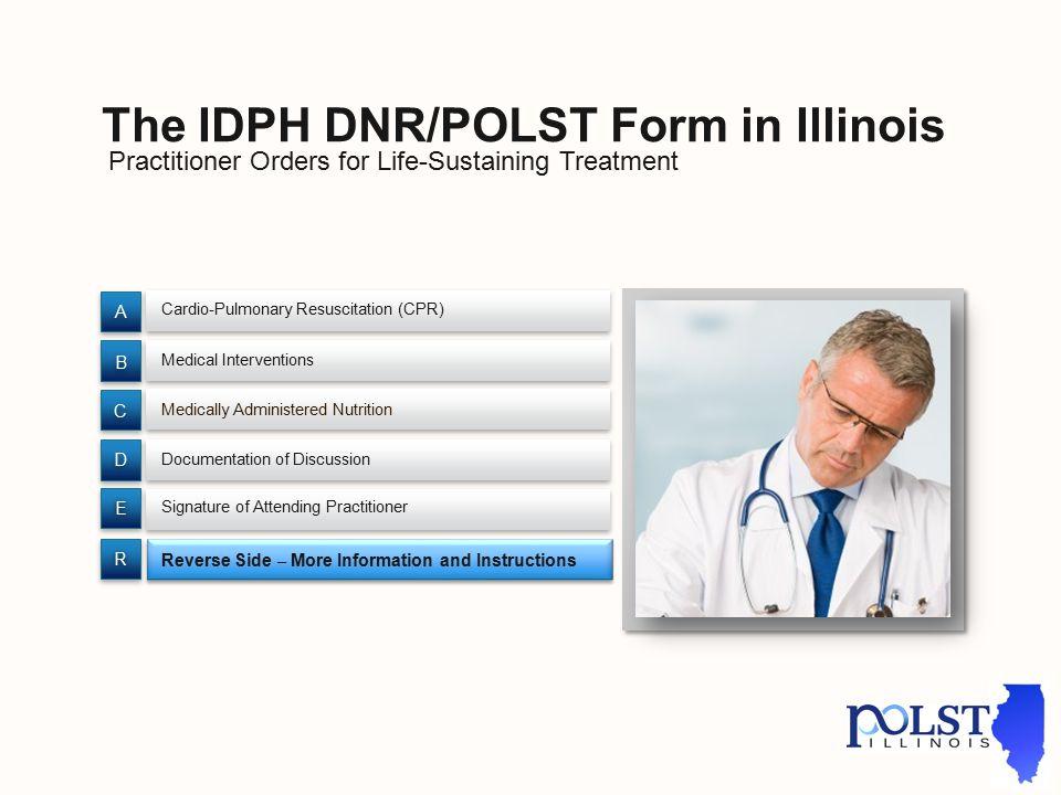 Illinois's IDPH DNR/POLST Form - ppt download