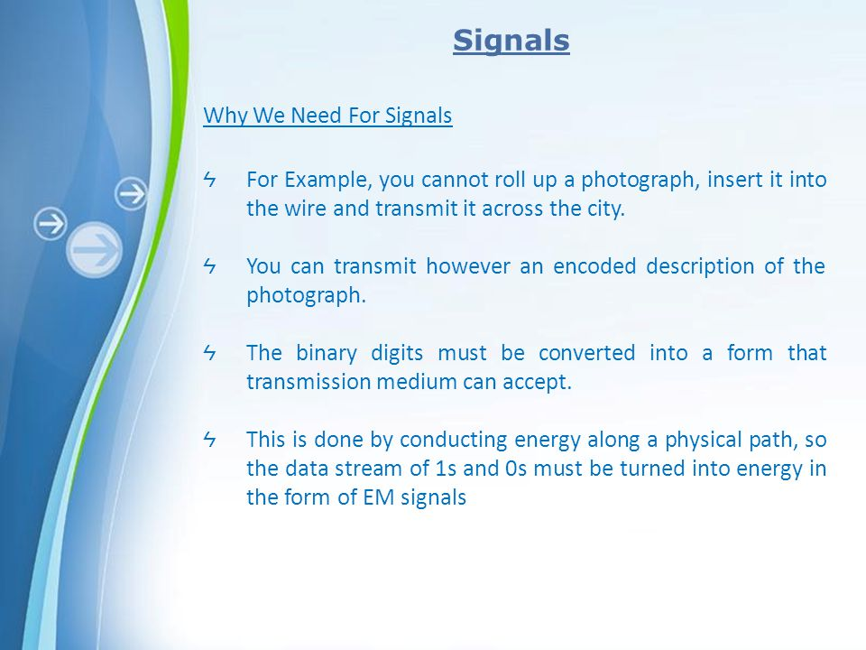Signals Why We Need For Signals