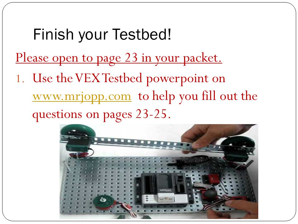 Finish+your+Testbed%21+Please+open+to+page+23+in+your+packet. photos and sensor instructions ppt video online download  at virtualis.co