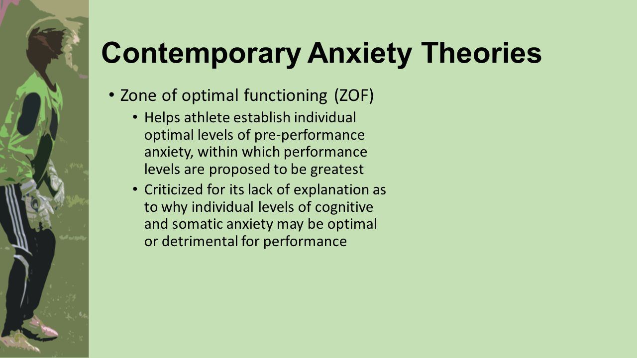 anxiety in individual sports Assessment of anxiety in sports person pre & post sports perfomance a study  on: levels of anxiety in individual vs group sport ramakrishnanks1, p.