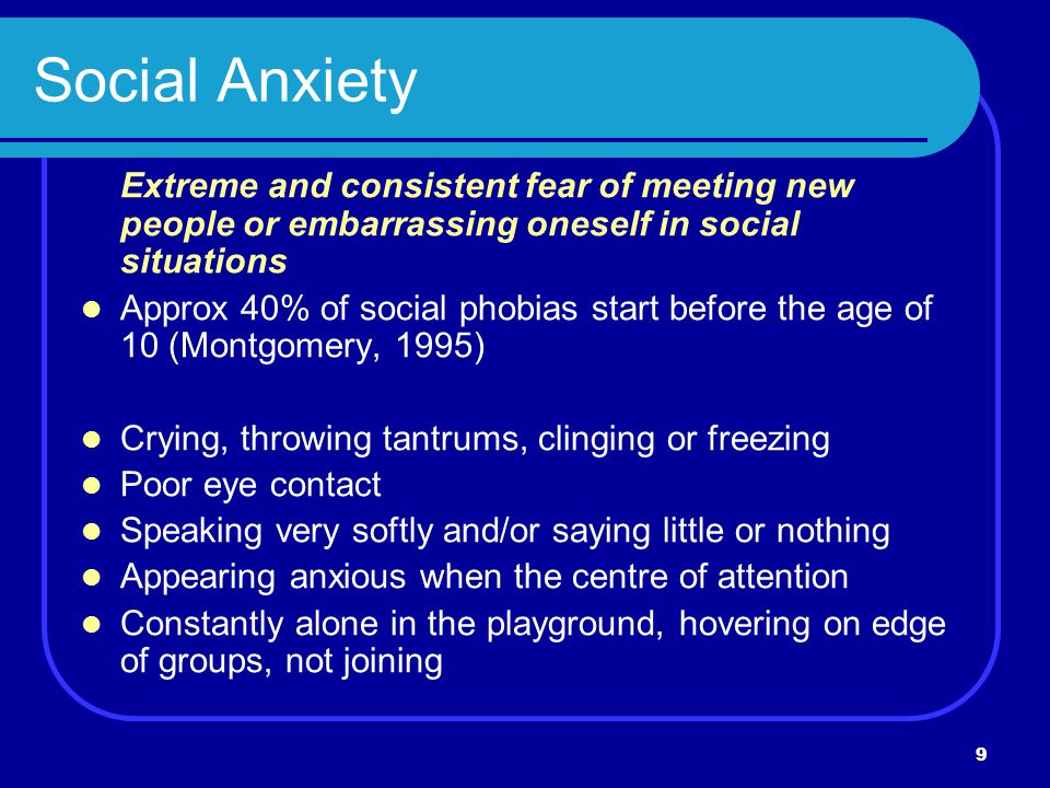 Preventing Anxiety & Depression in Children - ppt download