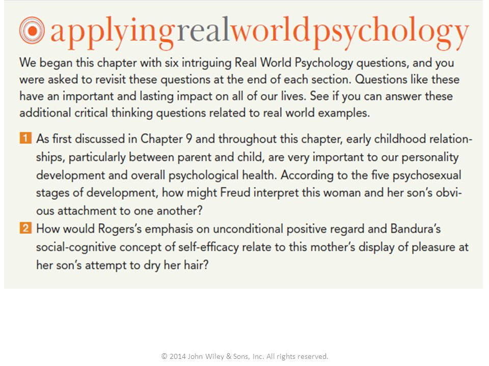 critical thinking psychology questions