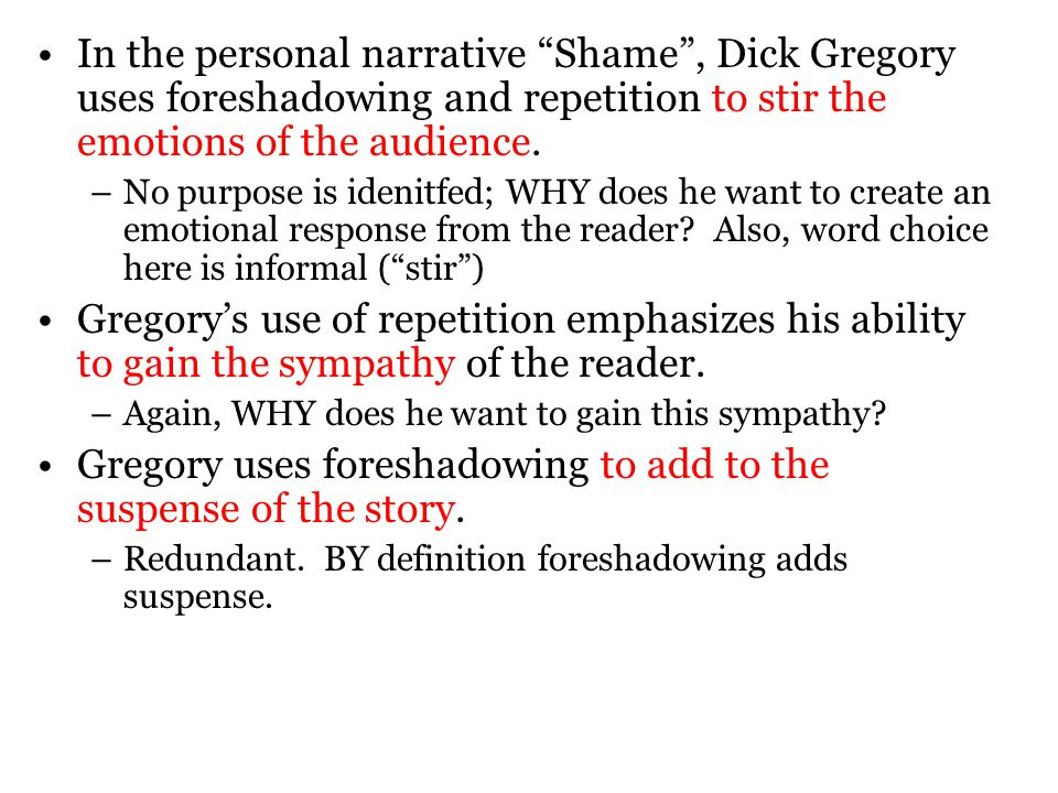 shame rdquo by dick gregory ppt video online 12 gregory