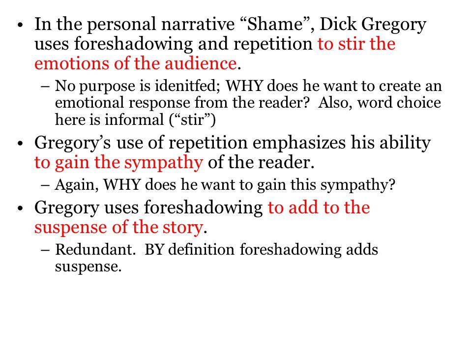 the personal narrative essay