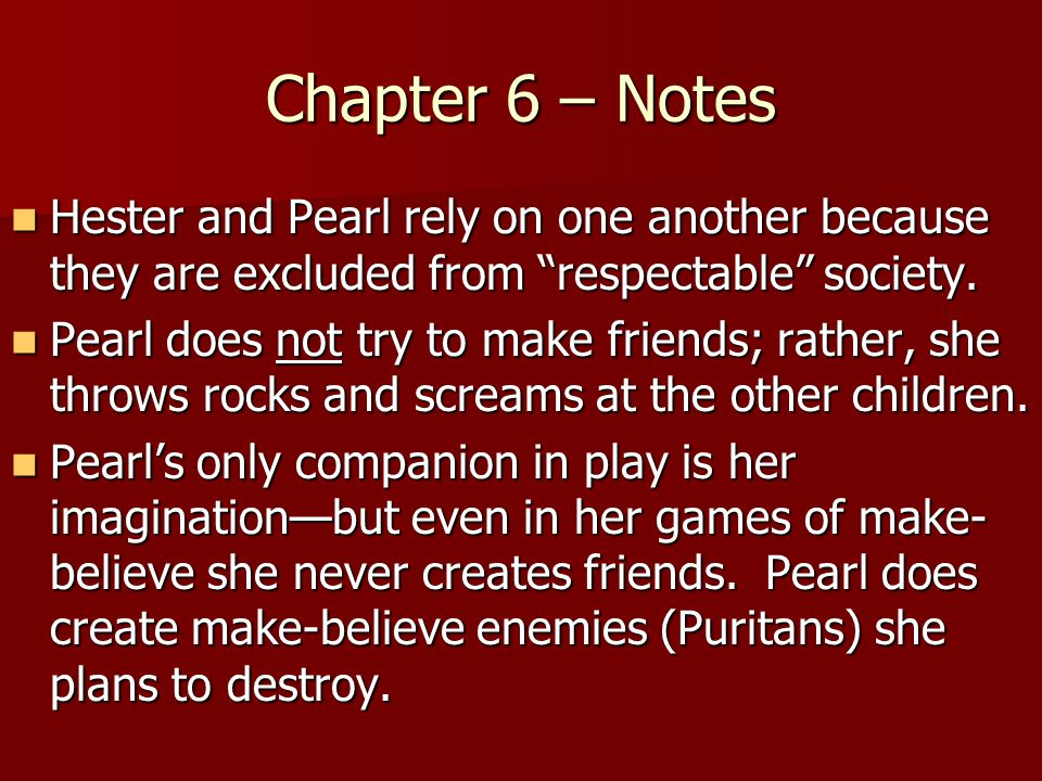 the scarlet letter ch 1 6 summary